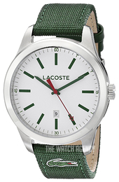 Lacoste Auckland White/Leather Ø44 mm 2010777