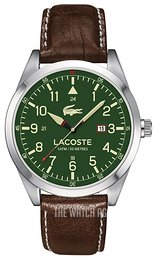 Lacoste Montreal Green/Leather Ø44 mm 2010781