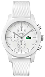Lacoste 12.12 White/Rubber Ø44 mm 2010823