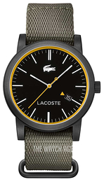 Lacoste Metro Black/Leather Ø42 mm 2010837