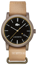 Lacoste Metro Black/Leather Ø42 mm 2010838