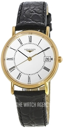 Longines Grande Classique White/Leather Ø30 mm L4.320.2.11.2