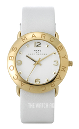 Marc by Marc Jacobs Amy White/Leather Ø36 mm MBM1150