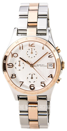 Marc by Marc Jacobs Henry White/Rose gold colored steel Ø37 mm MBM3070