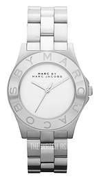 Marc by Marc Jacobs Blade White/Steel Ø36.5 mm MBM3125