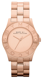 Marc by Marc Jacobs Blade Rose gold colored/Rose gold colored steel Ø36.5 mm MBM3127