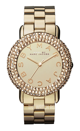 Marc by Marc Jacobs Marci Yellow gold toned/Yellow gold toned steel Ø36 mm MBM3191