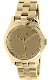 Marc by Marc Jacobs Henry Glossy Yellow gold toned/Yellow gold toned steel Ø36.5 mm MBM3211