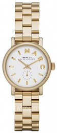 Marc by Marc Jacobs White/Yellow gold toned steel Ø28 mm MBM3247