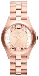 Marc by Marc Jacobs Henry Rose gold colored/Rose gold colored steel Ø34 mm MBM3293