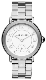 Marc by Marc Jacobs Dress White/Steel Ø37 mm MJ3469