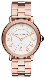 Marc by Marc Jacobs Dress White/Rose gold colored steel Ø37 mm MJ3471