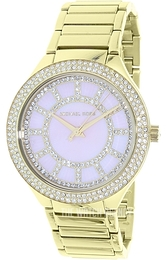 Michael Kors Kerry Pink/Yellow gold toned steel Ø37 mm MK3396