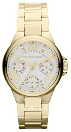 Michael Kors Camille Silver colored/Yellow gold toned steel Ø33 mm MK5759