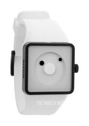 Nixon The Newton White/Rubber A116100-00