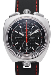 Omega Seamaster Bullhead Co-Axial Chronograph 43x43mm Black/Leather Ø43 mm 225.12.43.50.01.001