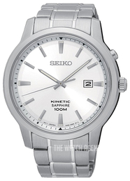 Seiko Kinetic Silver colored/Steel Ø43 mm SKA739P1