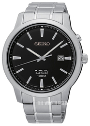 Seiko Kinetic Black/Steel Ø43 mm SKA741P1