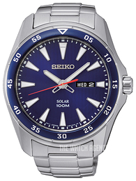 Seiko Solar Blue/Steel Ø44 mm SNE391P1