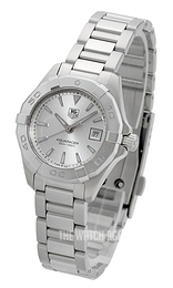 TAG Heuer TAG Heuer Aquaracer Lady Silver colored/Steel Ø27 mm WAY1411.BA0920
