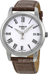 Tissot T-Classic Classic Dream White/Leather Ø38 mm T033.410.16.013.01