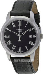 Tissot T-Classic Classic Dream Black/Leather Ø38 mm T033.410.16.053.01