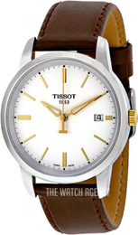 Tissot T-Classic Classic Dream White/Leather Ø38 mm T033.410.26.011.01