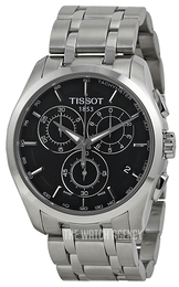 Tissot Couturier Black/Steel Ø41 mm T035.617.11.051.00