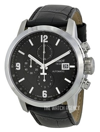 Tissot Carson Automatic Black/Leather Ø44 mm T055.427.16.057.00