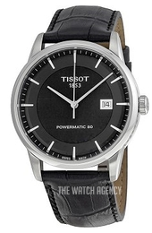 Tissot T-Classic Luxury Automatic Black/Leather Ø41 mm T086.407.16.051.00