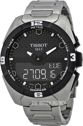 Tissot Touch Collection Black/Titanium Ø45 mm T091.420.44.051.00