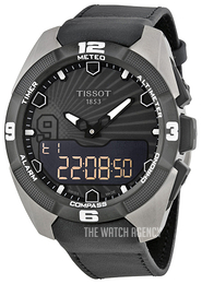 Tissot T-Touch Expert Solar Tony Parker Grey/Leather Ø45 mm T091.420.46.061.00