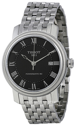 Tissot Bridgeport Powermatic 80 Gent Black/Steel Ø40 mm T097.407.11.053.00