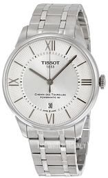 Tissot Chemin Des Tourelles Automatic Gent Silver colored/Steel Ø42 mm T099.407.11.038.00