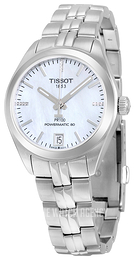 Tissot PR 100 Automatic Lady White/Steel Ø33 mm T101.207.11.116.00