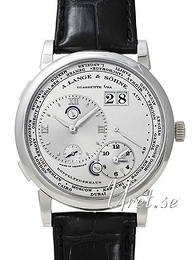 A. Lange & Söhne Lange 1 GMT Silver colored/Leather Ø41.9 mm 116.025
