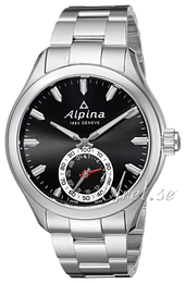 Alpina Horological Smartwatch Black/Steel Ø44 mm AL-285BS5AQ6B