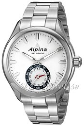 Alpina Horological Smartwatch White/Steel Ø44 mm AL-285S5AQ6B