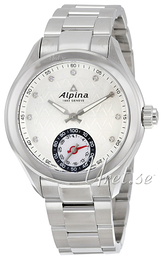 Alpina Horological Smartwatch Silver colored/Steel Ø39 mm AL-285STD3C6B