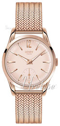 Henry London Shoreditch Rose gold colored/Rose gold colored steel Ø30 mm HL30-UM-0164