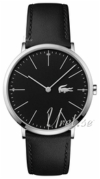 Lacoste Moon Black/Leather Ø40 mm 2010873