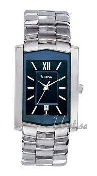 Bulova Bracelet Herr Blue/Steel Ø26 mm
