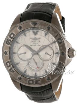 Invicta Pro Diver Silver colored/Leather