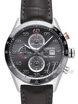 TAG Heuer Carrera Calibre 1887 Black/Leather