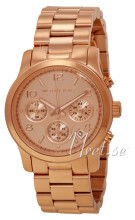 Michael Kors Runway Chronograph Rose gold colored/Rose gold colo