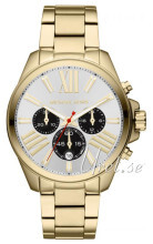 Michael Kors Wren Silver colored/Yellow gold toned steel Ø42 mm