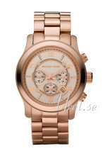Michael Kors Runway Oversized Chronograph Rose gold colored/Rose