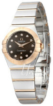 Omega Constellation Quartz 24mm Brown/18 carat rose gold