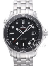 Omega Seamaster Diver 300m Co-Axial 41mm Black/Steel Ø41 mm