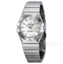 Omega Constellation Quartz 27mm White/Steel